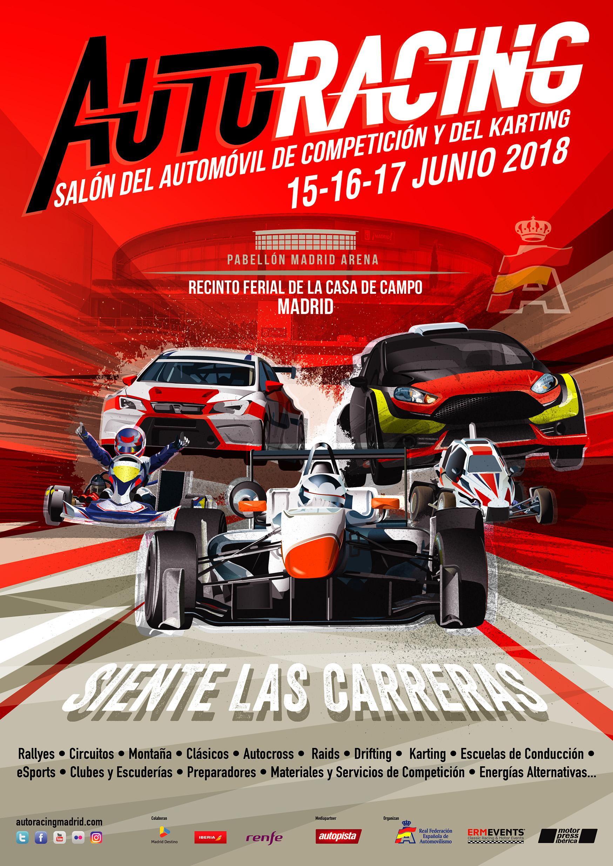 Auto Racing Madrid 2018 !